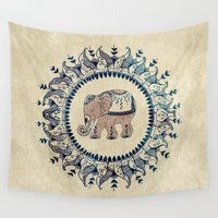 relax Wall Tapestries featuring Relax  by rskinner1122