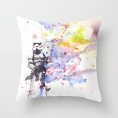 Storm Trooper from Star Wars Throw Pillow