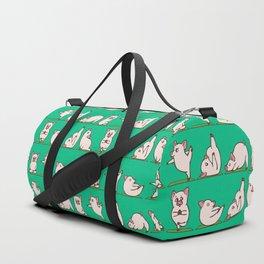 Pig Yoga Duffle Bag