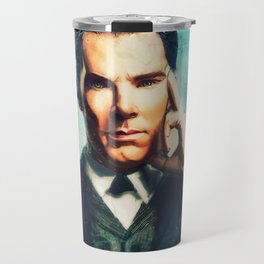 Man Out Of His Time Travel Mug