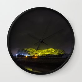 UFO landing at Sandymount Wall Clock