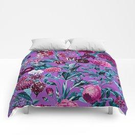 Romantic Floral Pattern Comforters