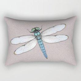 Blue dragonfly Rectangular Pillow