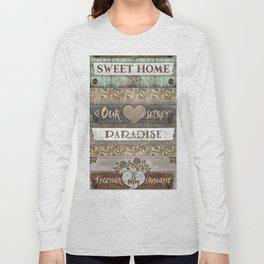 Sweet Paradise Series Long Sleeve T-shirt