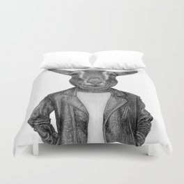 Don Pedro Old Goats Are Cool Duvet Cover