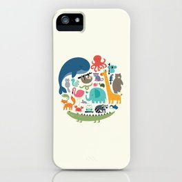 We Are One iPhone Case