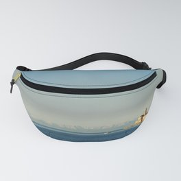the city of Piran, the sea, the sky, mountain Fanny Pack