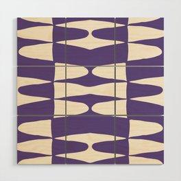 Zaha Ultra Violet Wood Wall Art