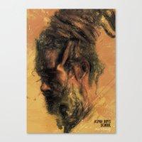 reggae Canvas Prints featuring Reggae Poster by Dimitris Evagelou