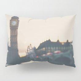 sunset over the city ... Pillow Sham