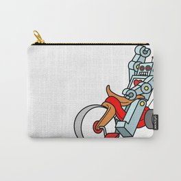 Hot Wheeling Robot Love Carry-All Pouch