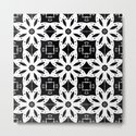 Black and White Floral Patterns by designsoutofmind