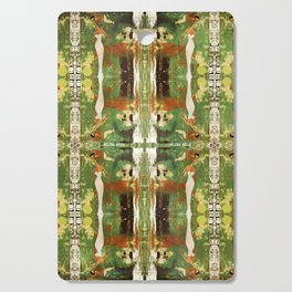 Out there in the woods, I feel peace........ Cutting Board
