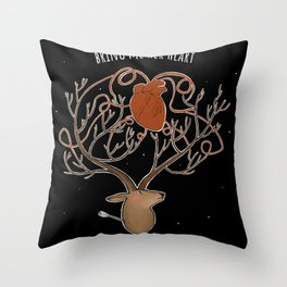 bring me her heart Throw Pillow