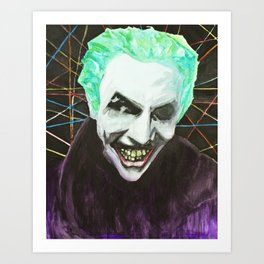 The Man Who Laughs Art Print