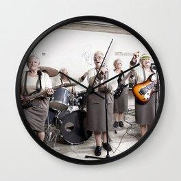 Rock Band Wall Clock