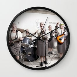 Rock Band Wall Clock