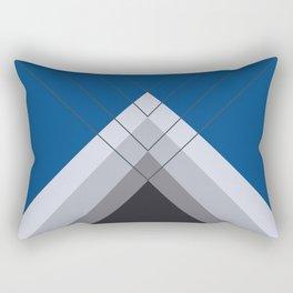 Iglu Lapis Blue Rectangular Pillow