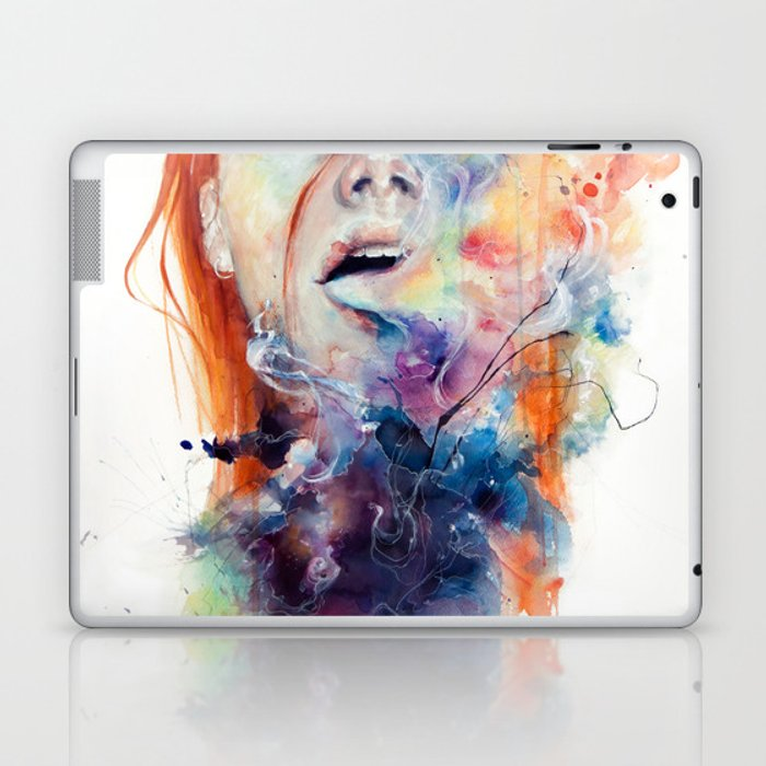 this thing called art is really dangerous Laptop & iPad Skin