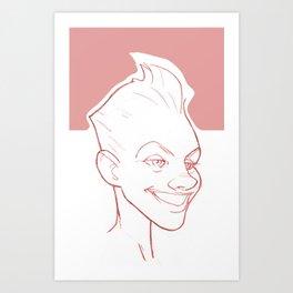 PinkToo Art Print