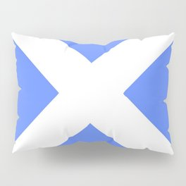 flag of scotland 4– scotland,scot,scottish,Glasgow,Edinburgh,Aberdeen,dundee,uk,cletic,celts,Gaelic Pillow Sham