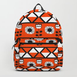 Shapes and flowers Backpack