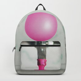 Tap with a pink balloon Backpack