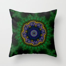 Fractal Abstract 62 Throw Pillow