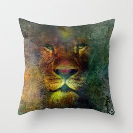 """ Maahes ""  Throw Pillow"