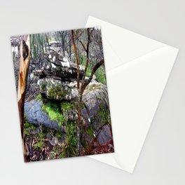 Volcanic Lava Rocks Stationery Cards
