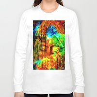 meditation Long Sleeve T-shirts featuring  Meditation by shiva camille