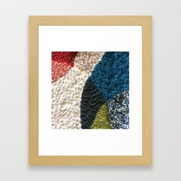 A Color Story Rug Hooked Art Framed Art Print