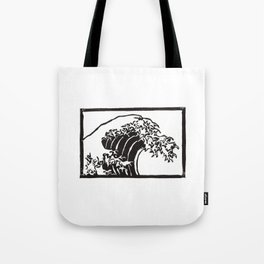 The Great Wave Of Kanagawa Tote Bag