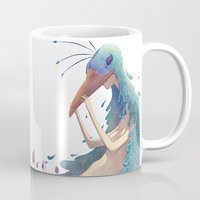 fairy Mugs featuring Fairy by Amandine Riera ( Dïne )