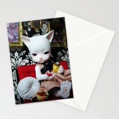 WEEKEND AT HOME (Cat Doll) Stationery Cards