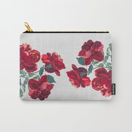 Red Roses Carry-All Pouch