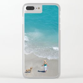 Morning on Clifton Beach Clear iPhone Case