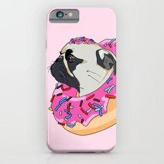 Pug Donut Strawberry Profile Slim Case iPhone 6s