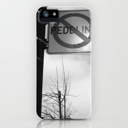 Sign Of the Times iPhone Case