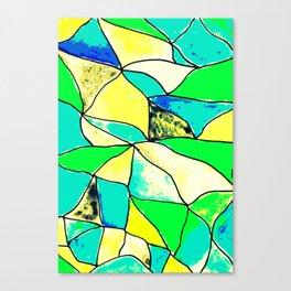 Vitro green Canvas Print