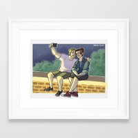 stucky Framed Art Prints featuring stucky fourth of july 2 by maria euphemia