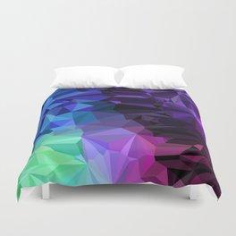 Crazy Crystals Duvet Cover