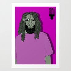1001 Black Men--#531 Art Print