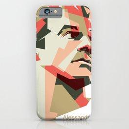 Del Piero Artwork iPhone Case