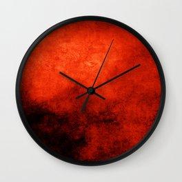 Abstract Cave XI Wall Clock