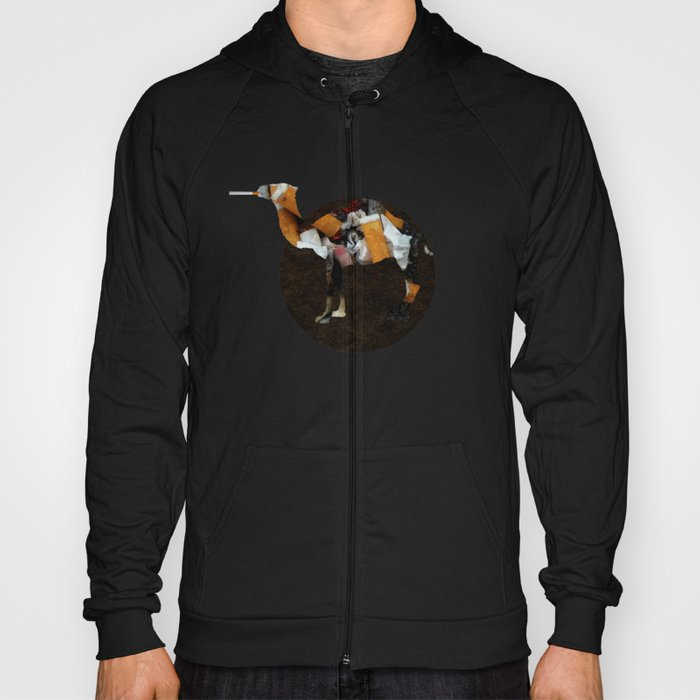 Camel Collage 3 Hoody