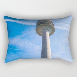 Olmpic tower Munich Rectangular Pillow