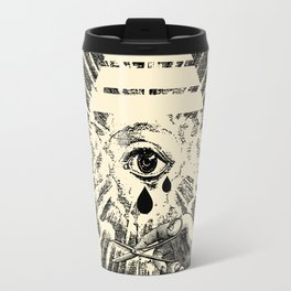 Us Lights All Seeing Eye Travel Mug