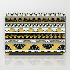 art deco stripes - honey iPad Case