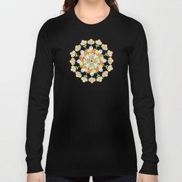 Beaux Arts Flower Crown Long Sleeve T-shirt